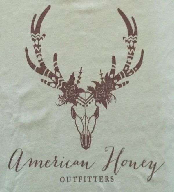 American Honey Outfitters Mint Logo Tee