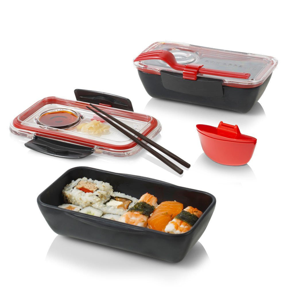 bento box lunch box bpa free box appetit. Black Bedroom Furniture Sets. Home Design Ideas
