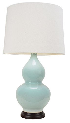 Pale Hulu Chinese Table Lamp (Pair)