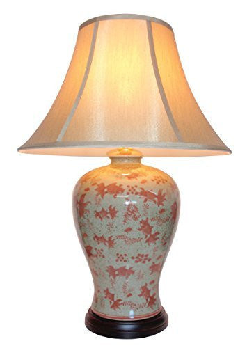 Goldfish Chinese Table Lamp (Pair)