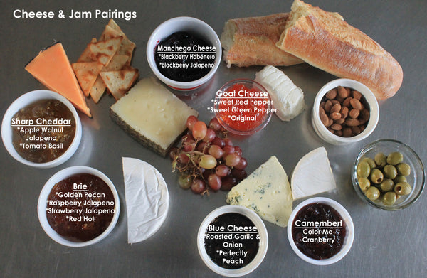 Jam and cheese pairings