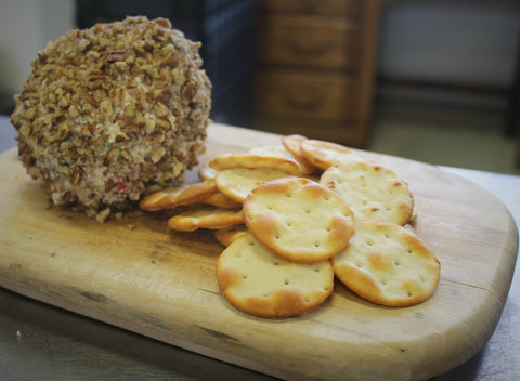 Peach Salsa Cheeseball