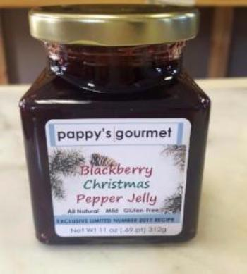 Blackberry Pepper Jelly - Special Christmas Edition 2017