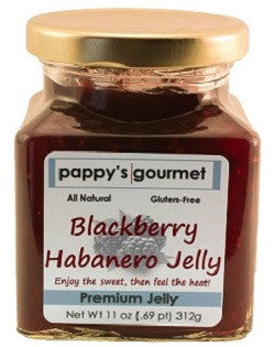 Pappy's Gourmet Blackberry Habanero Jelly