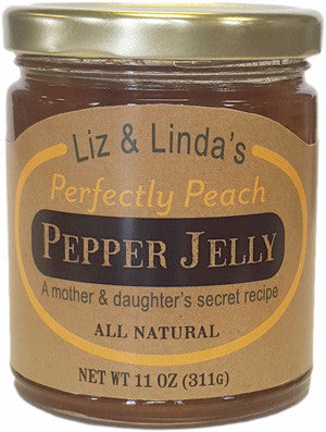 Liz & Linda's Perfectly Peach Pepper Jelly