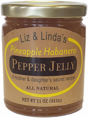 Pineapple Habanero Jelly - Liz & Linda's