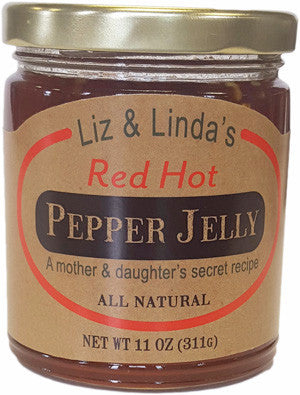 Liz & Linda's Red Hot Pepper Jelly