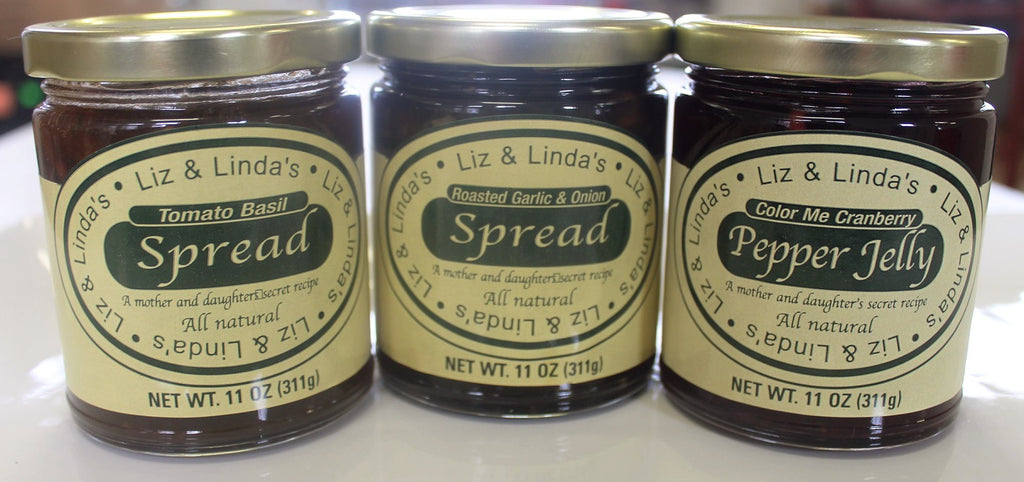 Liz & Linda's Spreads Gift Set