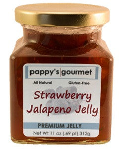 Pappy's Gourmet Strawberry Jalapeno Jelly