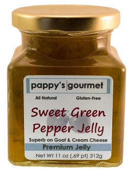 Pappy's Gourmet Sweet Green Pepper Jelly