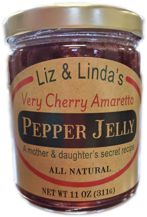Very Cherry Amaretto Pepper Jelly
