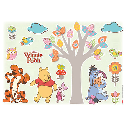 Winnie the Pooh Nature Lovers