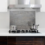 Concrete Kitchen Panel