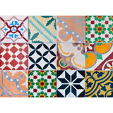 Colourful Tiles Kitchen Panel