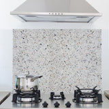 Terrazzo Cement Kitchen Panel