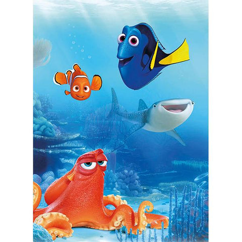 Finding Dory   Dory and Friends Mural