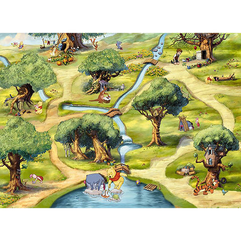 Winnie Hundred Acre Wood Mural