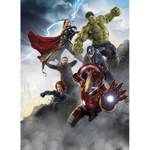 Avengers Age of Ultron Mural