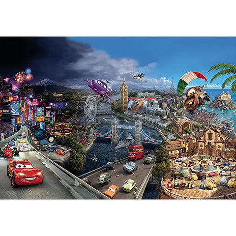 Cars World Mural