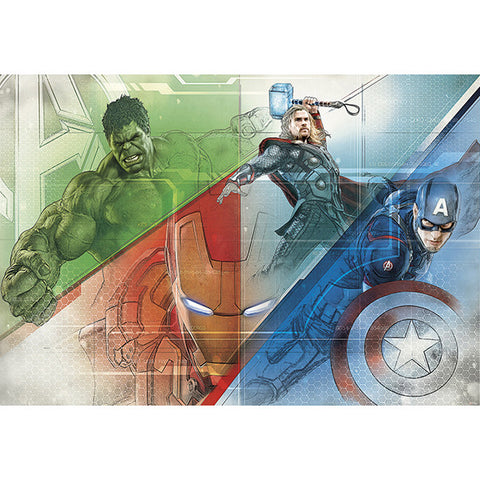Avengers Graphic Art Mural
