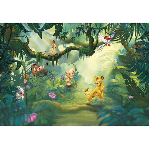 Lion King Jungle Mural
