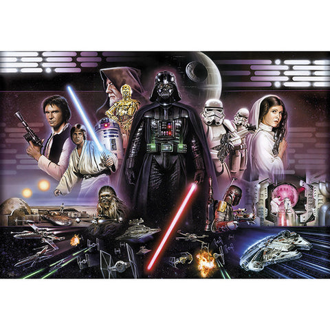 Star Wars Darth Vader Collage Mural