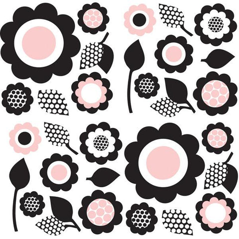 GiGi Floral Wall Art Sticker Kit