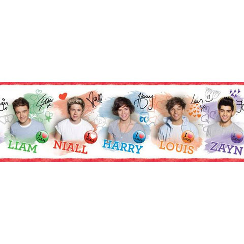 One Direction Self Adhesive Border