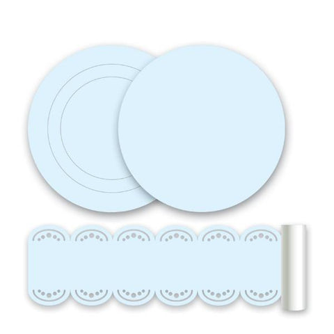 Baby Blue Wall Stickers