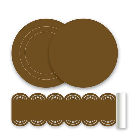 Espresso Brown Wall Stickers