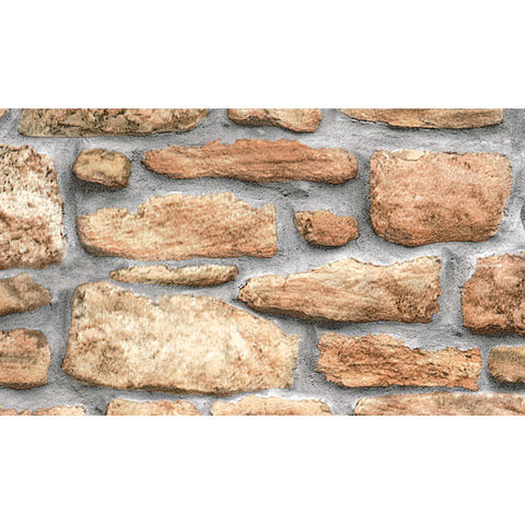 Stone Wall Peel and Stick Liner