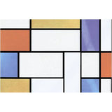 Mondrian Window Self Adhesive