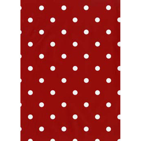 Polka Dot Red Peel and Stick Liner