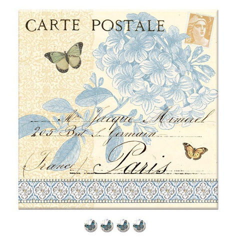 Paris Jardin Fabric Pinboard