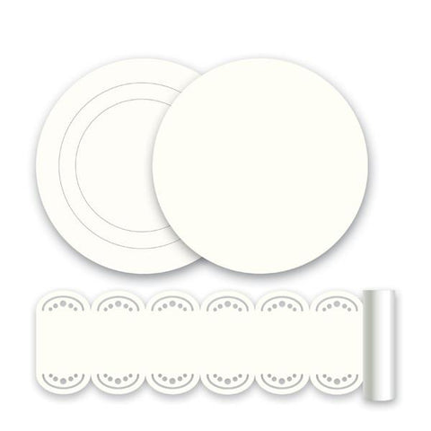 Ivory White Wall Stickers