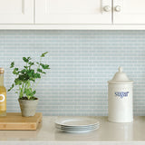 Sea Glass Peel & Stick Backsplash Tiles