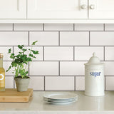 Subway Peel & Stick Backsplash Tiles
