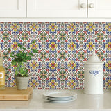 Tuscan Tile Peel & Stick Backsplash Tiles
