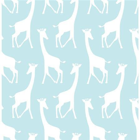 Turqoise Savannah Soiree Peel And Stick Wallpaper