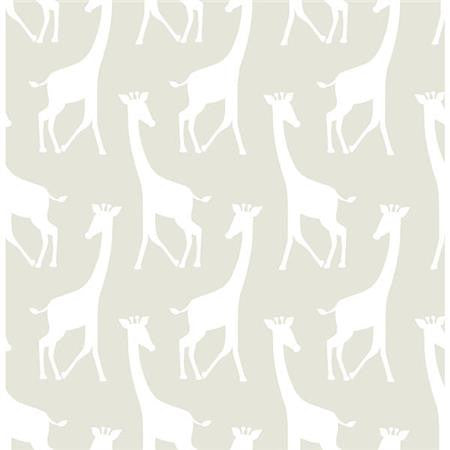 Taupe Savannah Soiree Peel And Stick Wallpaper