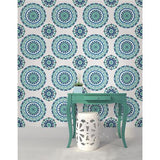 Jasmine Medallion Peel and Stick Wallpaper