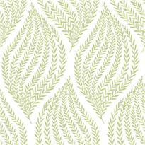Fern Lime Green Peel and Stick Wallpaper