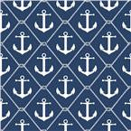 Set Sail - Navy Peel and Stick Wallpaper