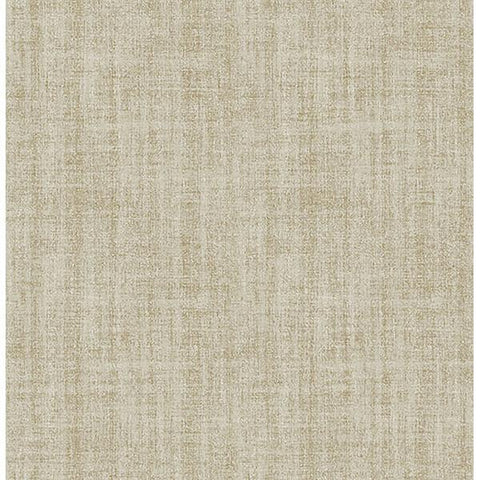 Ramie Linen Gold Peel and Stick Wallpaper - Special