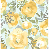 Peachy Keen – Yellow Peel and Stick Wallpaper