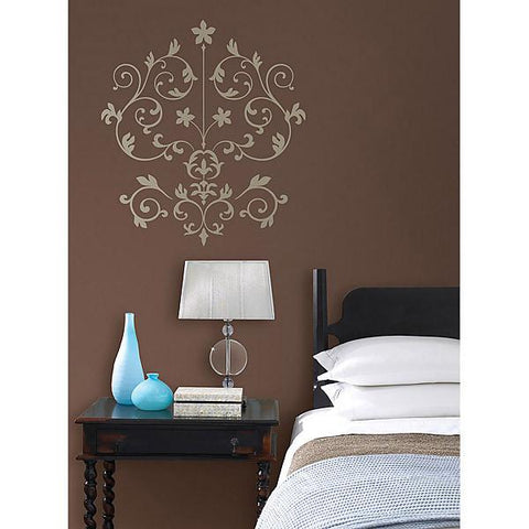Nouveau Damask Wall Art Sticker Kit