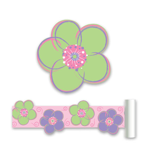 Poppie - Green Wall Stickers