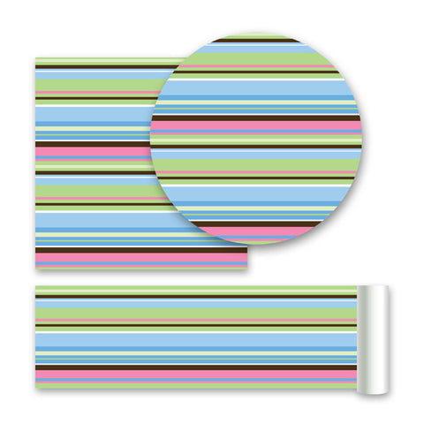 Ribbon Candy - Blue Wall Stickers