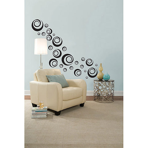 Ringlets Wall Art Sticker Kit