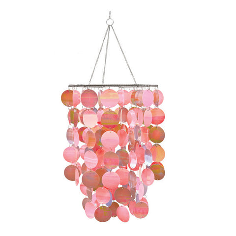 Pearl Pink Chandelier